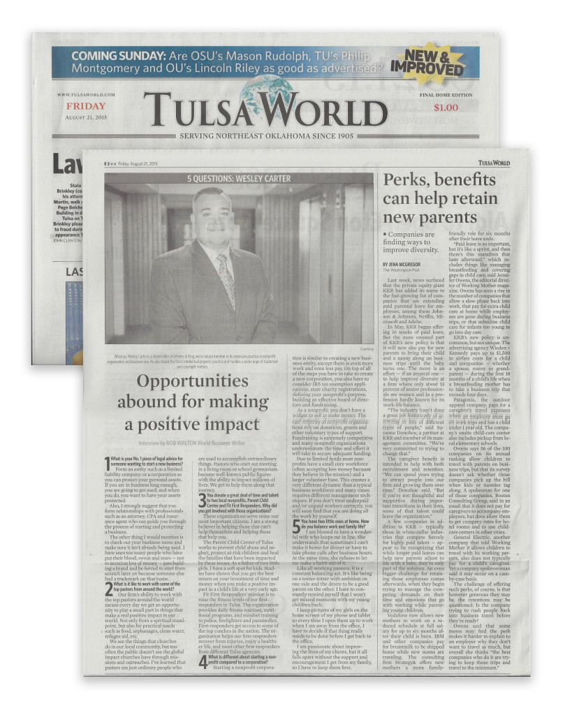 tulsa-business-attorneys-Tulsa World - Winters & King