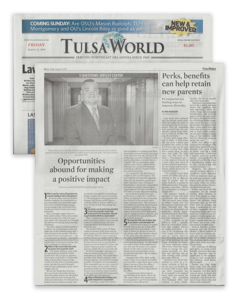 tulsa-business-attorneys-Tulsa World - Winters & King