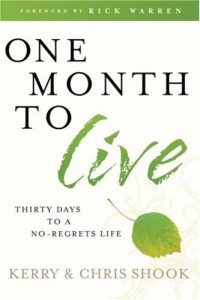 One Month to Live